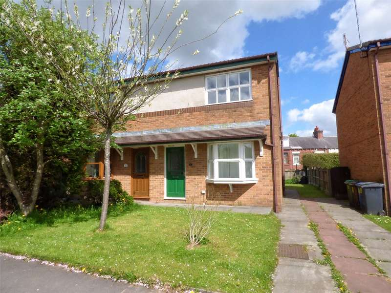 3 Bedrooms Semi Detached House for sale in Hawksmoor Drive, Shaw, Oldham, Greater Manchester, OL2