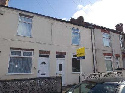 2 Bedrooms Terraced House for sale in Sherwood Street, Newton, Alfreton, Derbyshire