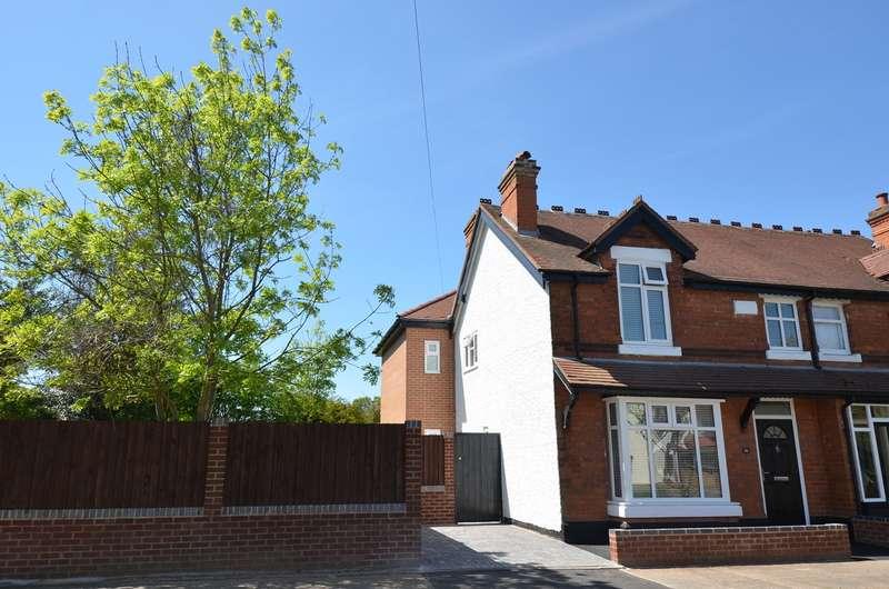 3 Bedrooms End Of Terrace House for sale in Grove Road, Kings Heath, Birmingham, B14