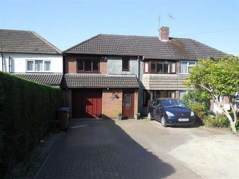 4 Bedrooms Semi Detached House for sale in Hollycroft Crescent, Hinckley