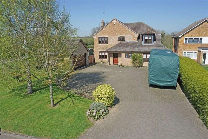 4 Bedrooms Detached House for sale in Welham Road, Great Bowden, Market Harborough