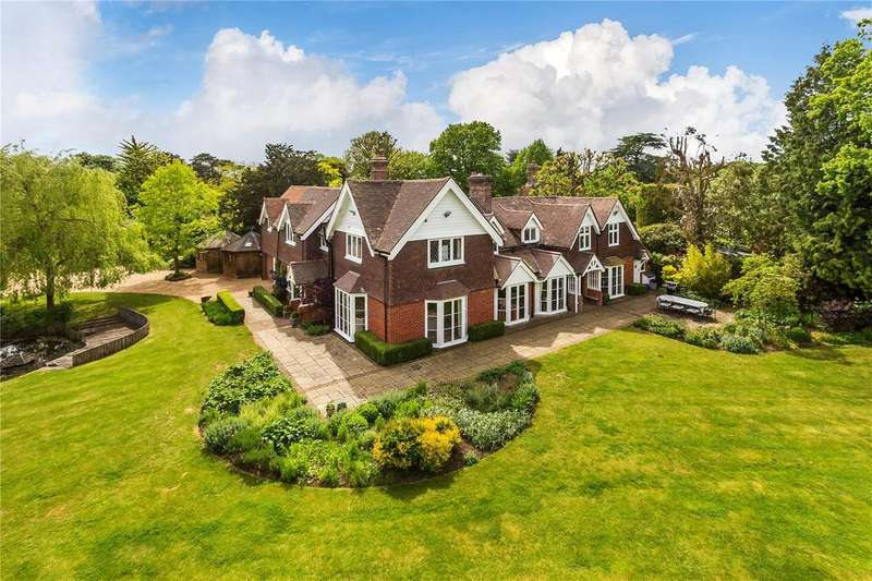 5 Bedrooms Detached House for sale in Pootings Road, Crockham Hill, Kent, TN8