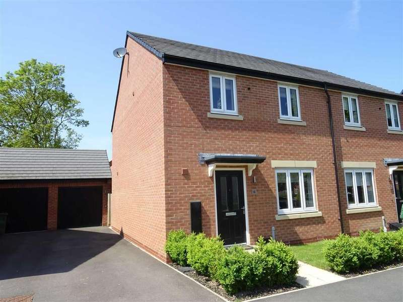3 Bedrooms Semi Detached House for sale in Lime Avenue, Sapcote