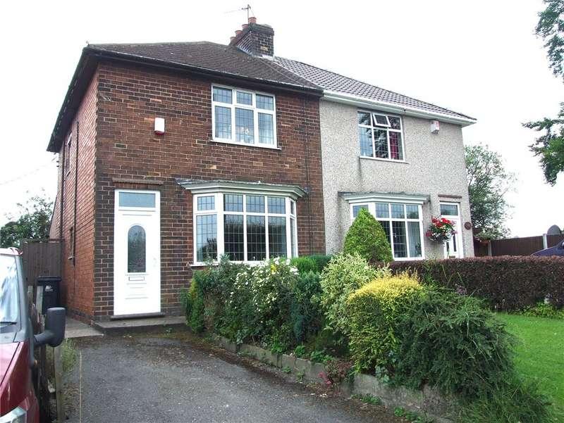 2 Bedrooms Semi Detached House for sale in Birchwood Lane, Somercotes, Alfreton, Derbyshire, DE55