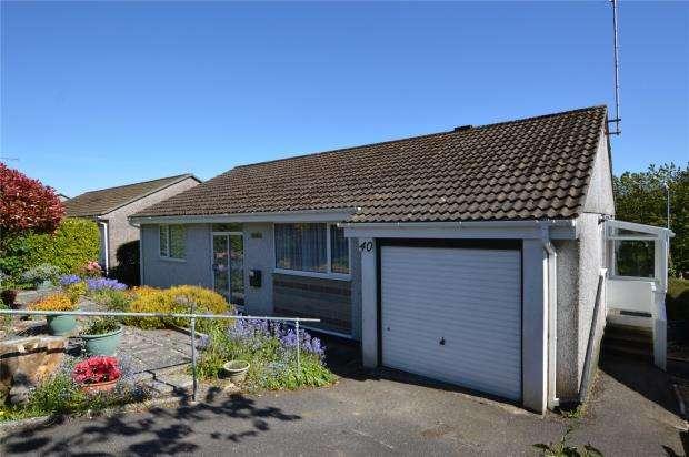 3 Bedrooms Detached Bungalow for sale in Allen Vale, Liskeard, Cornwall