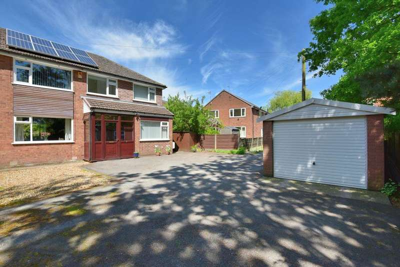 4 Bedrooms Semi Detached House for sale in Castle Farm Drive, Mile End, Stockport, SK2 6BS