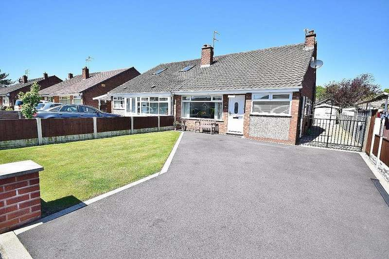 3 Bedrooms Semi Detached Bungalow for sale in Ashdale Drive, Heald Green