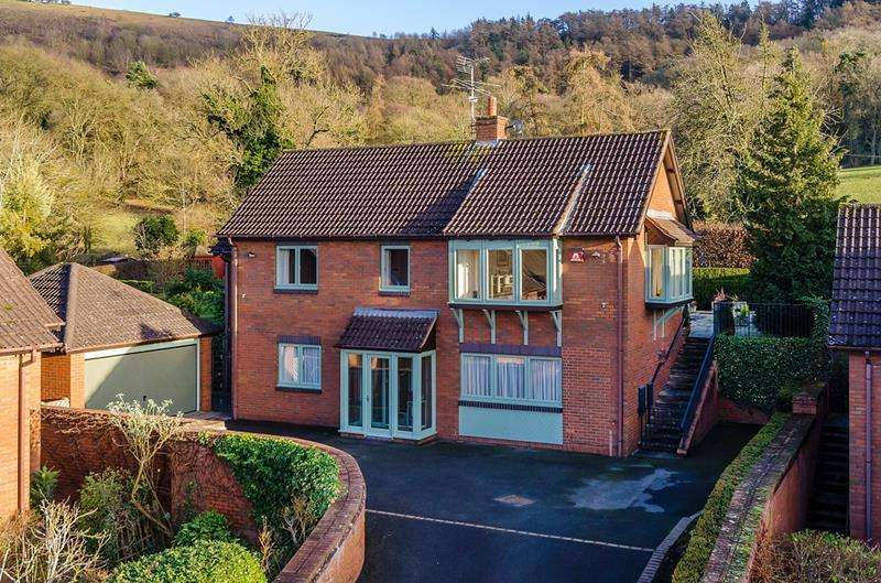 4 Bedrooms Detached House for sale in 5 Broadwood Park, Colwall, Malvern, Herefordshire, WR13 6QQ