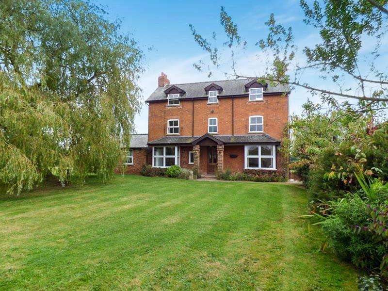 6 Bedrooms Detached House for sale in Paunt House, Castle Trump, Newent, Gloucestershire, GL18 1LS