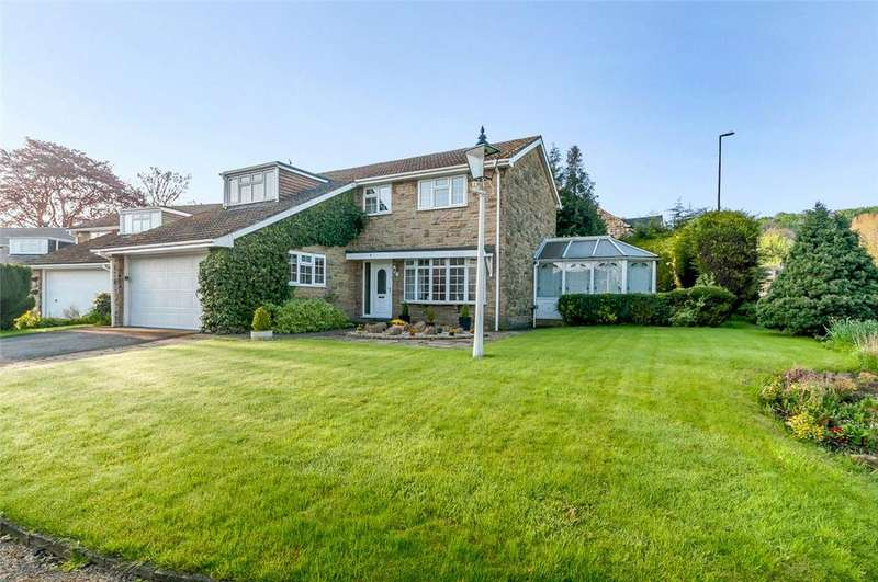 5 Bedrooms Detached House for sale in Pool Bank Close, Pool in Wharfedale, Otley, West Yorkshire, LS21