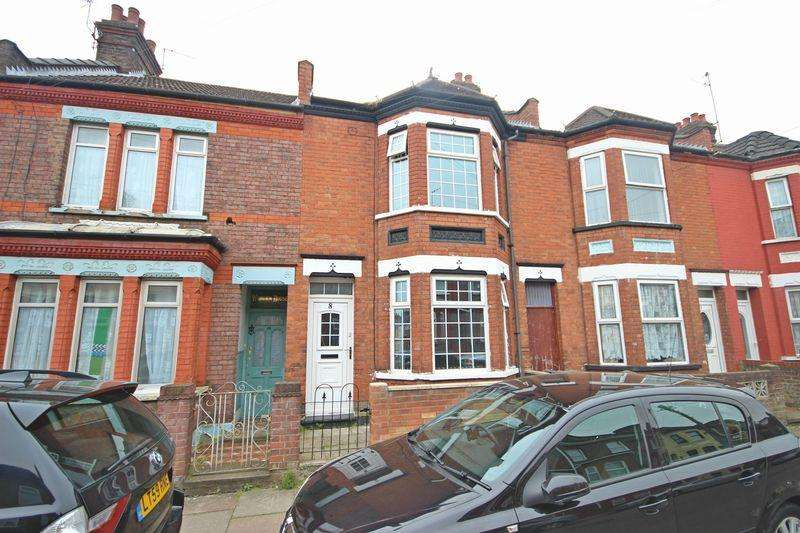3 Bedrooms Terraced House for sale in Vernon Road, Luton