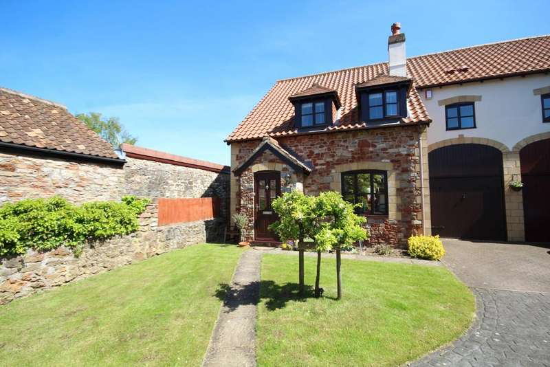 3 Bedrooms Semi Detached House for sale in The Courtyard, West Harptree