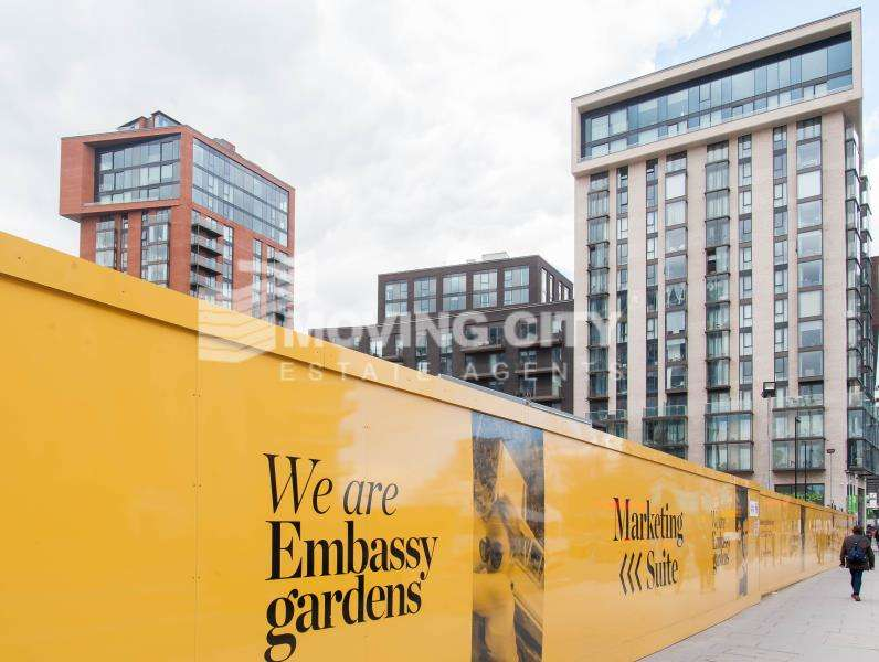 2 Bedrooms Apartment Flat for sale in Glacier House, Nine Elms, London, SW8
