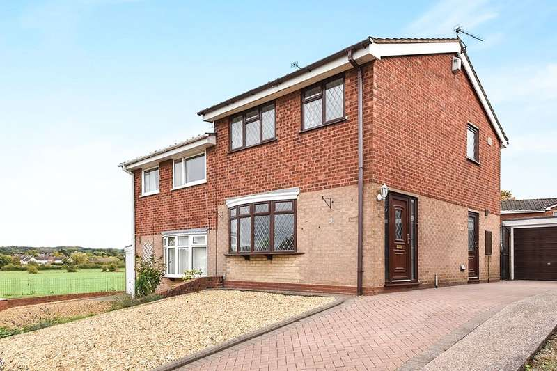 3 Bedrooms Semi Detached House for rent in Runnymede, Stone, ST15