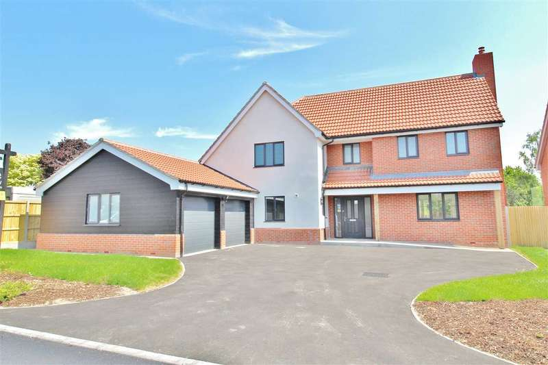 4 Bedrooms Detached House for sale in Mill Farm Place, Belstead, Ipswich