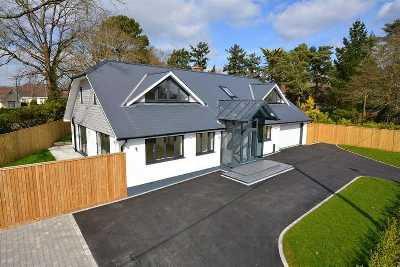 5 Bedrooms Detached House for sale in Dudsbury Road, West Parley, Ferndown