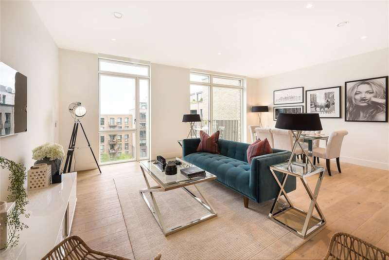 2 Bedrooms Flat for sale in Nautilus House, 14 West Row, North Kensington, London, W10