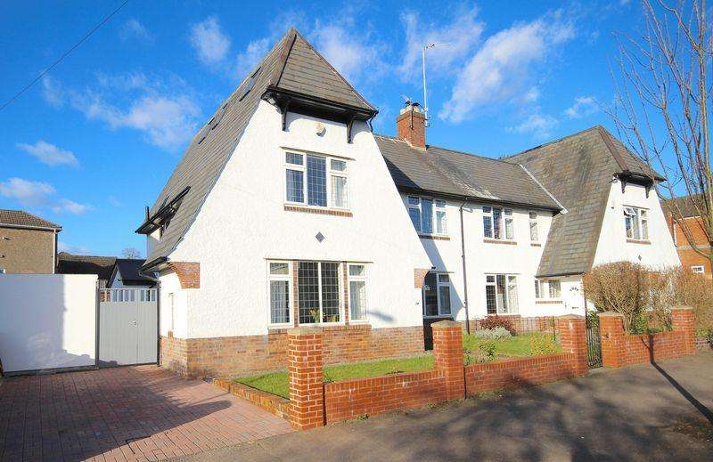 5 Bedrooms Semi Detached House for sale in St Michael's Road, Llandaff Cardiff