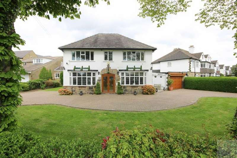 4 Bedrooms Detached House for sale in Alwoodley Lane, Alwoodley, LS17