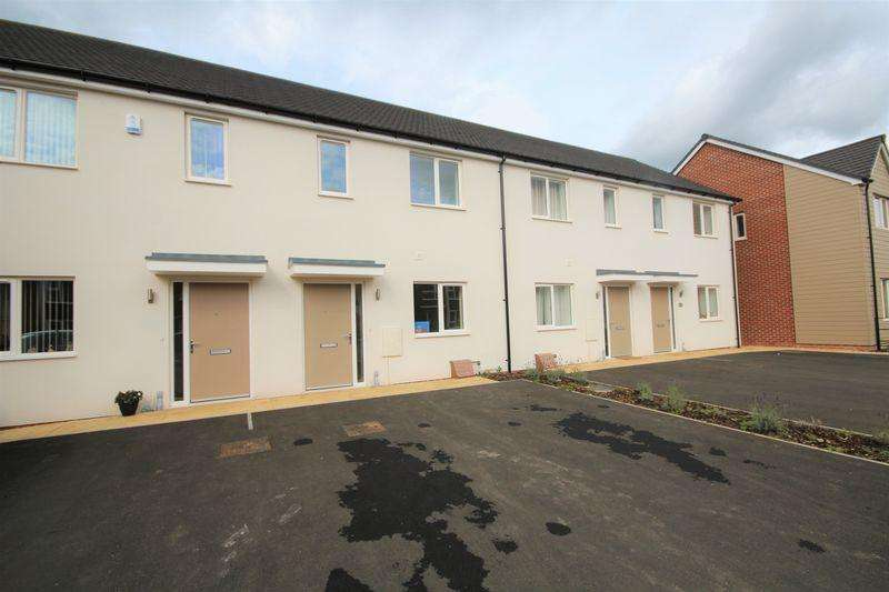 2 Bedrooms Terraced House for rent in RHODESWOOD CLOSE, HILTON, DERBY