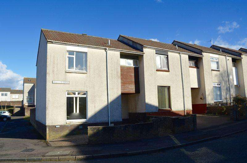 3 Bedrooms End Of Terrace House for sale in Iris Court, Ayr