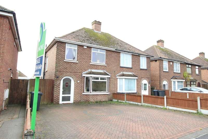 3 Bedrooms Semi Detached House for sale in Manston Road, Ramsgate, CT11