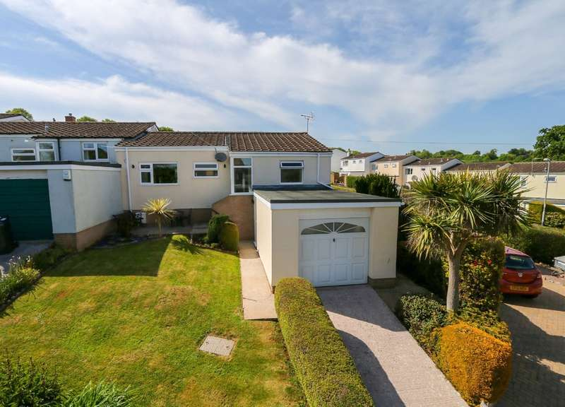 3 Bedrooms Terraced Bungalow for sale in Corn Park Road, Abbotskerswell