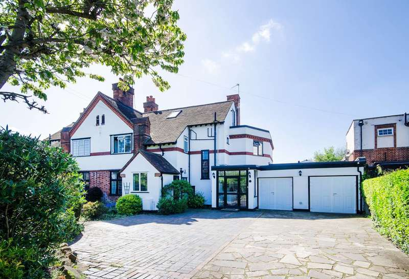 5 Bedrooms Semi Detached House for sale in Kingsend, Ruislip, HA4