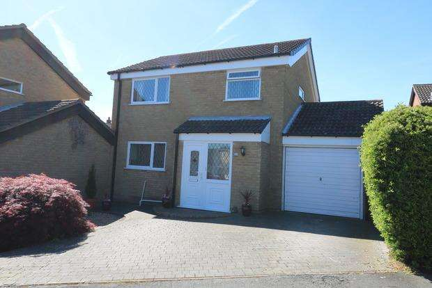 3 Bedrooms Link Detached House for sale in Cranmere Road, Melton Mowbray, LE13