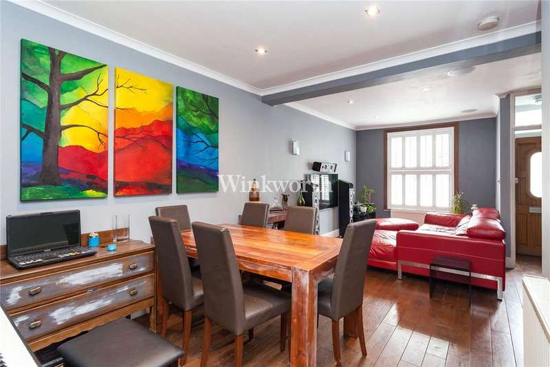 2 Bedrooms Terraced House for sale in Collingwood Road, Seven Sisters, London, N15