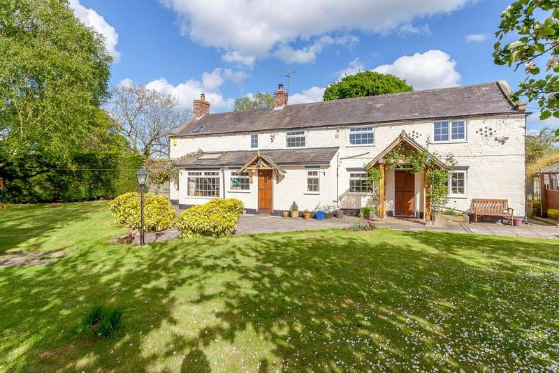 4 Bedrooms Detached House for sale in Tattenhall, Chester, Cheshire
