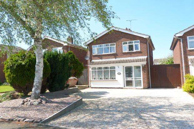 3 Bedrooms Detached House for sale in Oak Drive, Syston, Leicester, LE7