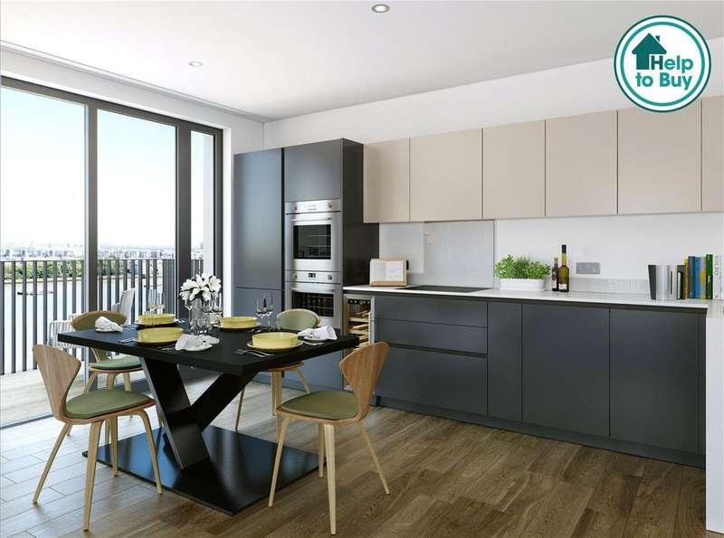 1 Bedroom Apartment Flat for sale in Callis Yard, Woolwich, SE18