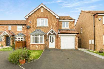 4 Bedrooms Detached House for sale in Cottingham Grove, Thornley, Co Durham, DH6