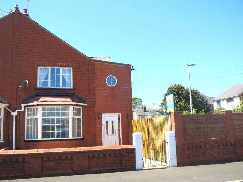 3 Bedrooms Semi Detached House for sale in Sherwood Avenue, Blackpool, FY3 7HT