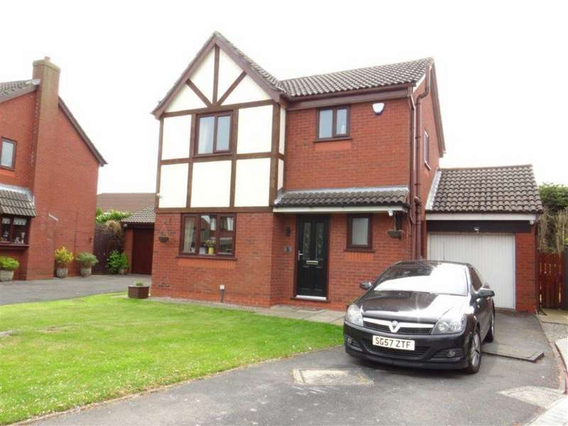 3 Bedrooms Detached House for sale in Springmount, Lowton