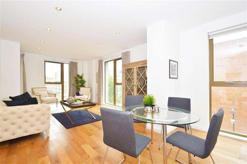 2 Bedrooms Apartment Flat for sale in Crondall Street, Shoreditch, N1