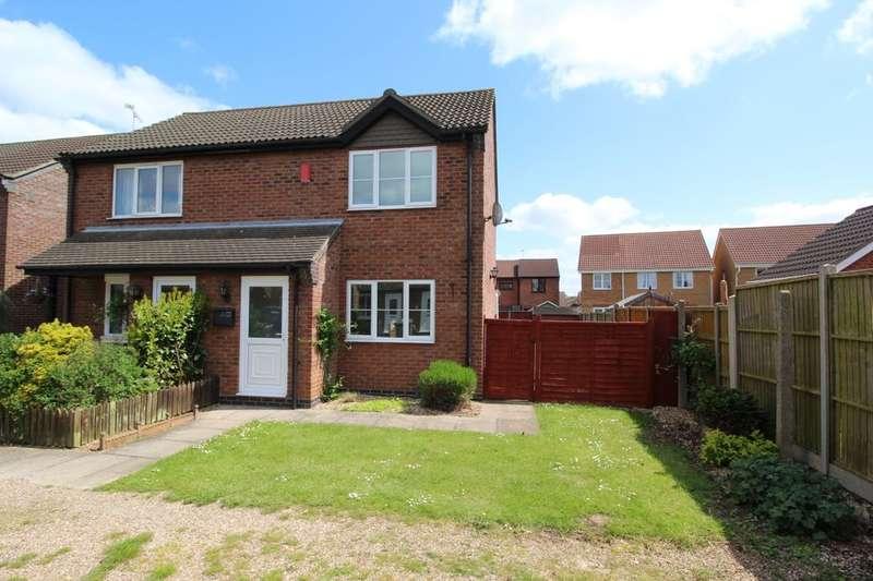 2 Bedrooms Semi Detached House for sale in Bluebell Court, Bracebridge Heath, Lincoln, LN4