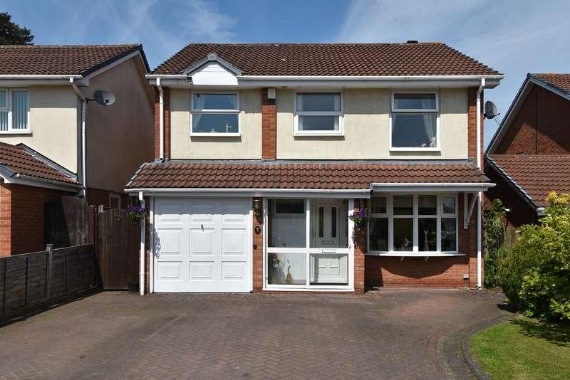 4 Bedrooms Detached House for sale in Farnbury Croft, Kings Norton, Birmingham, B38