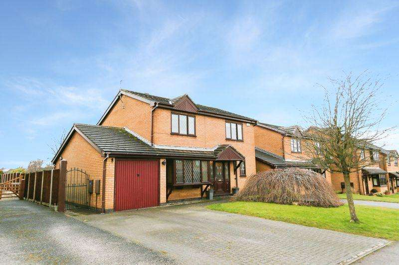 4 Bedrooms Detached House for sale in Kepple Gate, Ripley