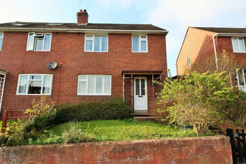 3 Bedrooms Semi Detached House for sale in Meadow Way, Exeter