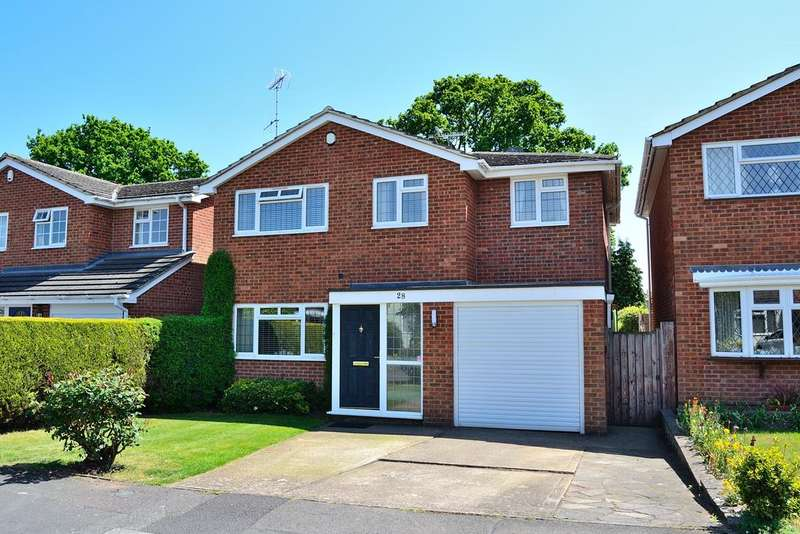 4 Bedrooms Detached House for sale in Squirrels Way, Earley, Reading, Berkshire, RG6 5QT