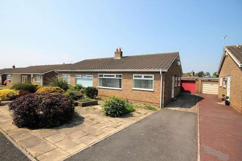 2 Bedrooms Semi Detached Bungalow for sale in Burringham Road, Norton