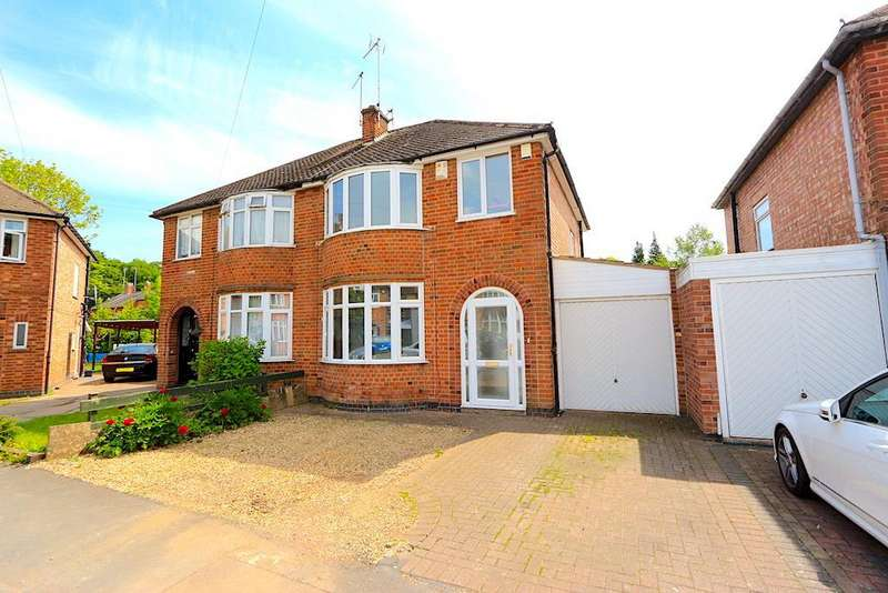 3 Bedrooms Detached House for sale in Frankson Avenue, Braunstone Town