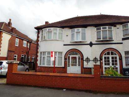 4 Bedrooms Semi Detached House for sale in Gildridge Road, Whalley Range, Manchester, Greater Manchester