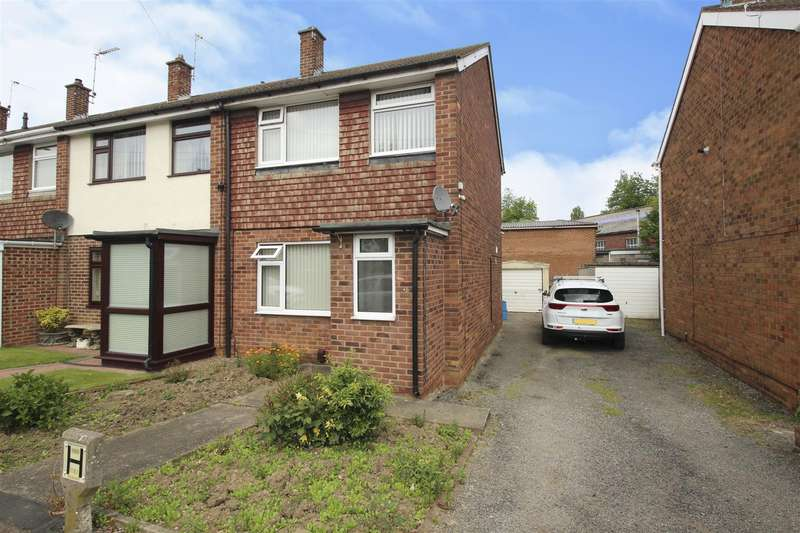 2 Bedrooms Town House for sale in Gallows Inn Close, Ilkeston