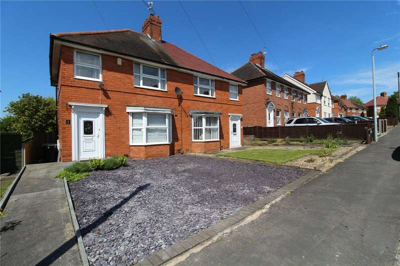 2 Bedrooms Semi Detached House for sale in Gorse Rise, Lincolnshire, Grantham, Lincolnshire, NG31