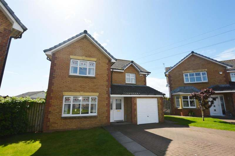 4 Bedrooms Detached House for sale in 49 Corsankell Wynd, SALTCOATS, KA21 6HZ