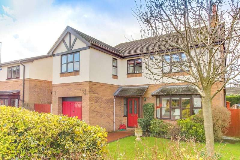 5 Bedrooms Detached House for sale in Ffordd Ystrad, Coed Y Glyn, Wrexham, LL13
