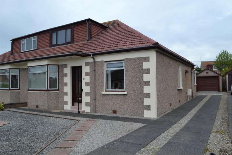 4 Bedrooms Semi Detached Bungalow for sale in 11 Dykesfield Place, SALTCOATS, KA21 6DB